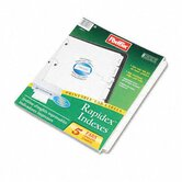 Esselte Pendaflex Corporation Index Dividers