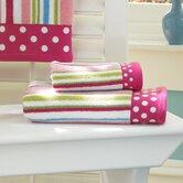 Bambini Polka Dot 6 Piece Towel Set