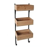 Cheungs Rattan Accent Wall Shelving