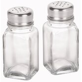 "4"" Glass Salt and Pepper Shakers (Set of 12)"
