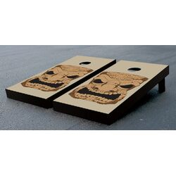 Tiki Head Cornhole Game Set