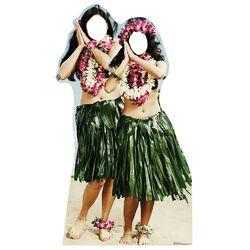 Stand-Ins Hawaiian Hula Girls Life Size Cardboard Standup