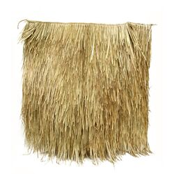 """48"""" x 48"""" Mexican Palm Thatch Panel"""