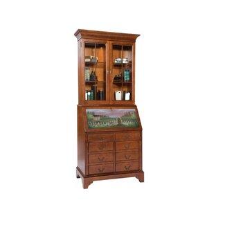 Jasper Cabinet Arlington File Drawer Secretary Desk With Hutch