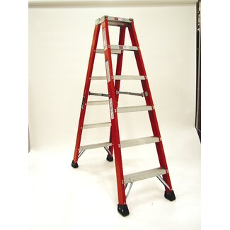 Michigan Ladder Heavy Duty 4 Ft Fiberglass Step Ladder