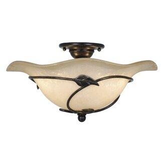 Click to buy Vine Semi-Flush Ceiling Light from Wayfair!