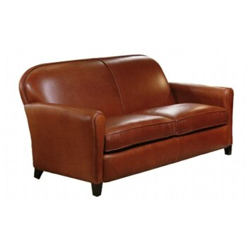 Omnia Furniture Buenos Aires Leather Loveseats Reviews Wayfair