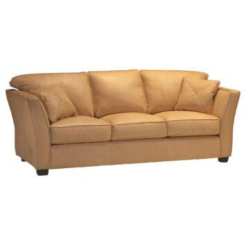 Omnia Furniture Manhattan Leather Sleeper Sofa Reviews Wayfair