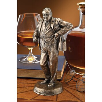 Sir Winston Churchill Statue On Popscreen