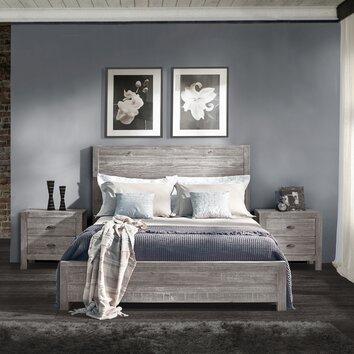 Grain Wood Furniture Montauk Panel Bed & Reviews