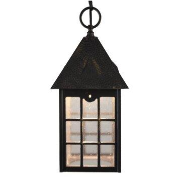 Melissa Kiss Series 1 Light Outdoor Hanging Lantern Pendant Reviews W