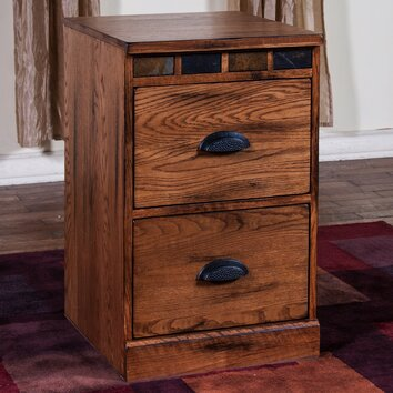 Sunny Designs Sedona 2 Drawer File Cabinet Amp Reviews Wayfair