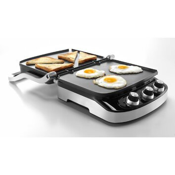 DeLonghi 5 in 1 Panini Press Grill And Griddle amp Reviews