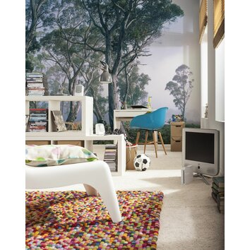 Brewster home fashions komar fantasy forest wall mural for Brewster home fashions wall mural