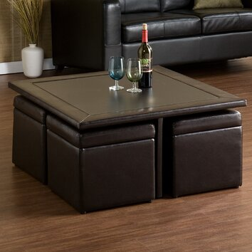 Pennington Storage Cube Coffee Table Set