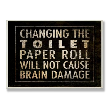 Turf Management personalized toilet paper