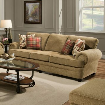 Simmons Upholstery Thunder Sofa amp Reviews Wayfair