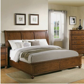 riverside furniture oakmont panel customizable bedroom set