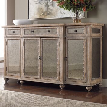 Hooker Furniture Mirrored Credenza & Reviews