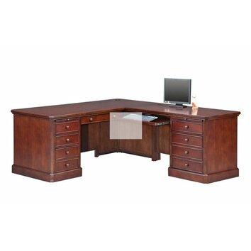 Winners Only Inc L Shaped Executive Desk amp Reviews Wayfair