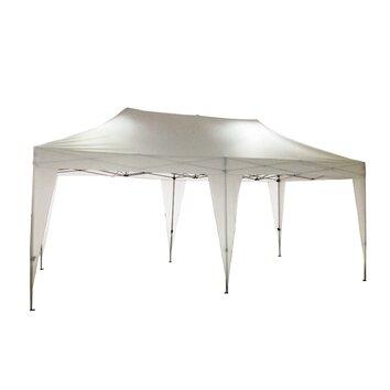Lb International Pop Up 20 Ft W X 10 Ft D Canopy Reviews Wayfair Supply