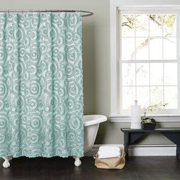 Lush Decor Stella Shower Curtain Reviews Wayfair