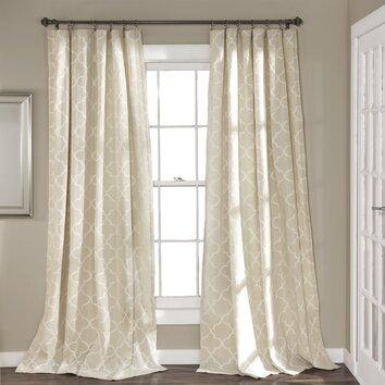 Lush Decor Geo Light Filtering Curtain Panel Reviews
