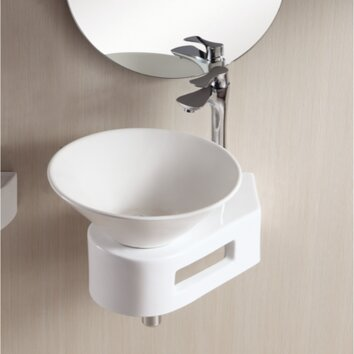 Ceramica II Vessel Bathroom Sink with Thin Wall Wayfair