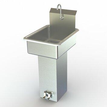 Pedal Stool Sink : NSF 19