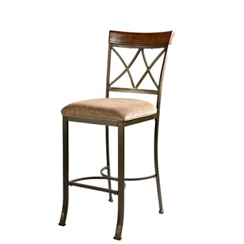 Powell Cafe Hamilton 29 Quot Bar Stool With Cushion Amp Reviews