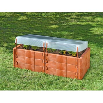 Retangular raised garden wayfair for Wayfair garden box