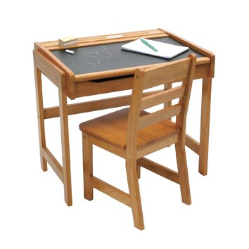 Lipper International Art Desk & Chair