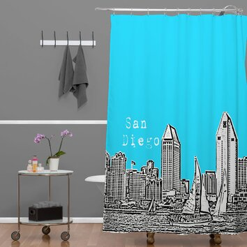 bird ave san diego shower curtain wayfair