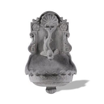 Amedeo Design ResinStone Dolphin Wall Fountain - When you buy a Amedeo Design ResinStone Dolphin Wall Fountain online from Wayfair, we make it as easy as possible for you to find out when your product will be delivered. Read customer reviews