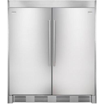 Frigidaire refrigerator trim kit reviews wayfair for Frigidaire armoire