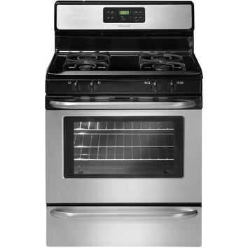 Frigidaire 5 cu ft gas range in stainless steel reviews for Frigidaire armoire