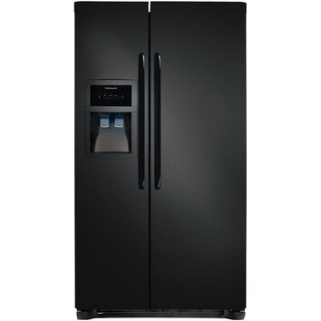 Frigidaire 14 2 cu ft side by side refrigerator for Frigidaire armoire