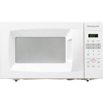 frigidaire 0 7 cu ft 700w countertop microwave reviews wayfair. Black Bedroom Furniture Sets. Home Design Ideas