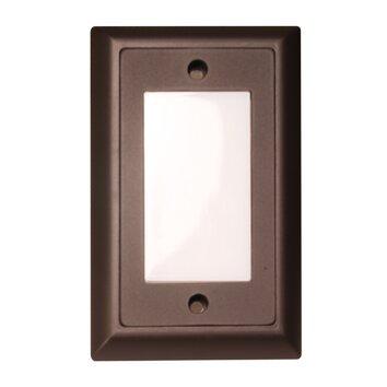 Smooth LED Step Light Faceplate Wayfair