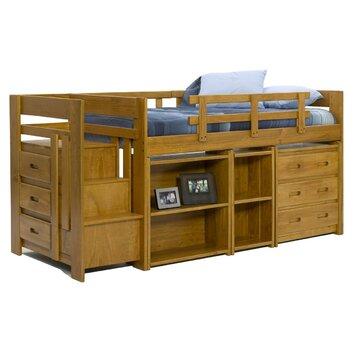 Chelsea Home Twin Loft Storage Bed Amp Reviews Wayfair