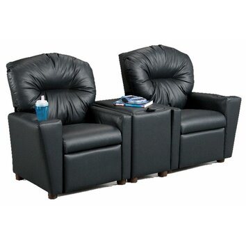 Brazil Furniture Children S Home Theater Recliner Set With