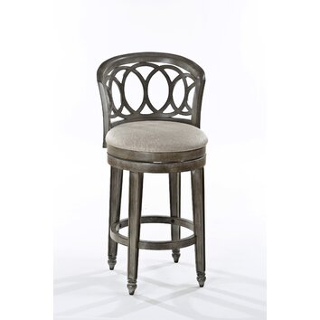 Hillsdale Adelyn 26 Quot Swivel Bar Stool With Cushion