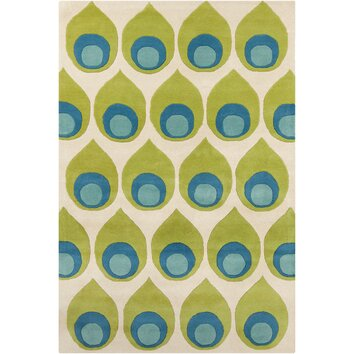 how to put an accent over a letter filament cinzia green blue abstract area rug amp reviews 22345 | Filament LLC Cinzia Green Blue Abstract Area Rug CIN175 576