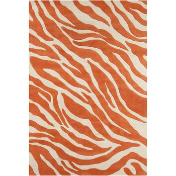 how to put an accent over a letter filament cinzia orange abstract area rug amp reviews 22345 | Filament LLC Cinzia Cream Orange Abstract Area Rug CIN180 576