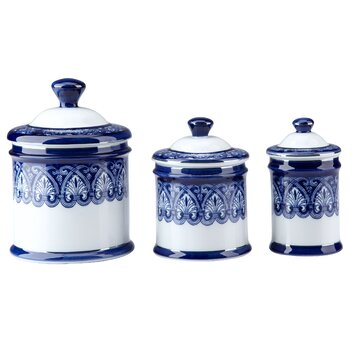 bombay heritage 3 piece lidded decorative canister set top 10 designing kitchen with kitchen canister sets
