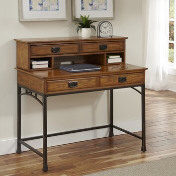 home styles modern craftsman executive desk 2