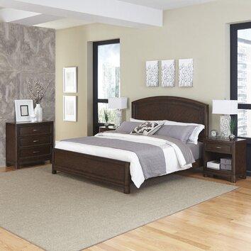 Crescent Hill Panel 4 Piece Bedroom Set Wayfair