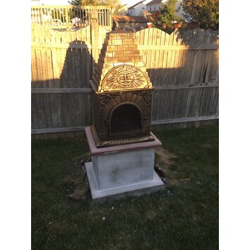 Deeco Aztec Allure Pizza Oven Outdoor Fireplace Amp Reviews