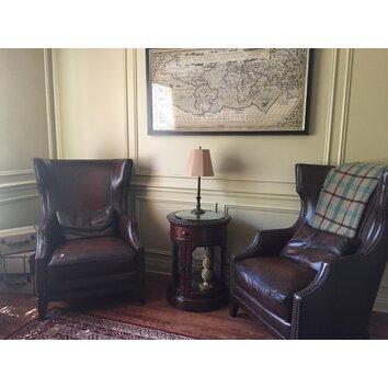 Simon Li Forbes Accent Chair And Ottoman Amp Reviews Wayfair