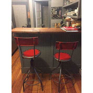 Trent Austin Design Marshall Adjustable Height Bar Stool